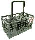 UNIVERSAL DISHWASHER BASKET OPEN COMPARTMENT