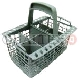 UNIVERSAL CUTLERY BASKET 125Wx220Lx230H