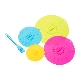 SILICONE LIDS FOOD COVERS x 4