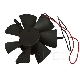 DC BRUSHLESS FAN MOTOR 12 V F&P (Freezer fan)