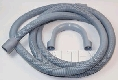 HOSE DRAIN 2.5M 22MM STRAIGHT CUFF FOR  DISHWASHER